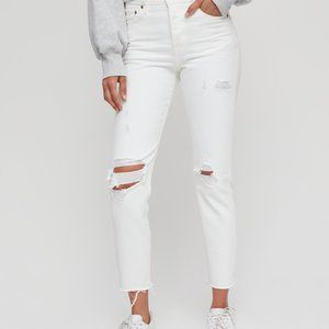 Levi's Wedgie Icon Jeans White (s24)